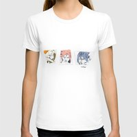 sasuke T-shirts featuring Naruto, Sakura, Sasuke. 15 YEARS by Mendivant