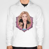 britney spears Hoodies featuring Britney Spears by Will Costa