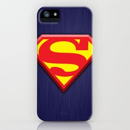 Super Hero Super Man iPhone Case