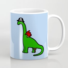 Pirate Dinosaur - Brachiosaurus Coffee Mug