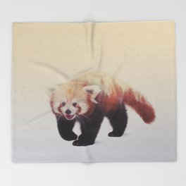 Little Ones: Red Panda Throw Blanket