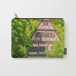 Klosterhof Blaubeueren ( Half-timbered House ) Carry-All Pouch
