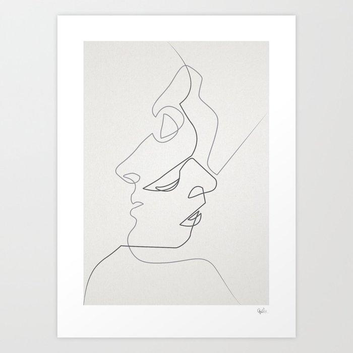 Close Kunstdrucke