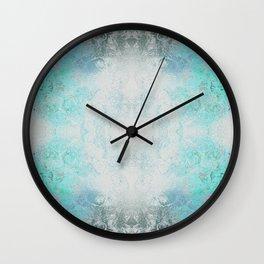 Little Garden Invert Mirrored Wall Clock