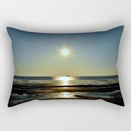 At The End Of Day Rectangular Pillow