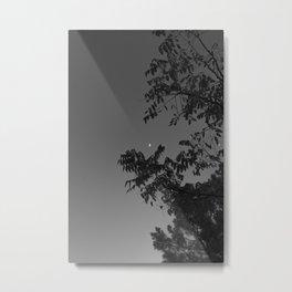 Daylight Moon Metal Print