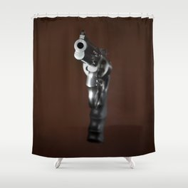 Smith & Wesson 628 Shower Curtain
