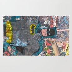Vintage Comic Bat man Rug