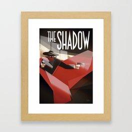 The Shadow Framed Art Print