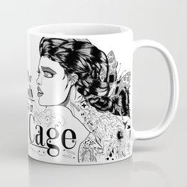 My body is a cage Coffee Mug