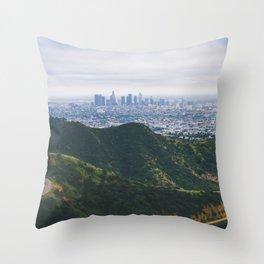 Griffith Park Throw Pillow