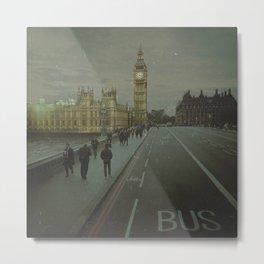 London. Over The Bridge.  Metal Print