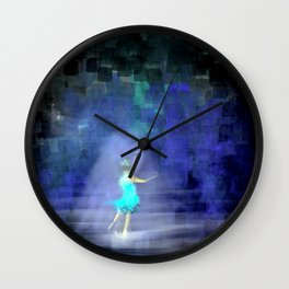 She's Going for Gold Wall Clock