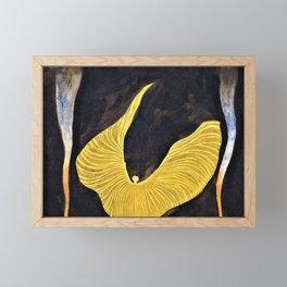 Koloman Moser - Loie Fuller in the Dance, The Archangel - Digital Remastered Edition Framed Mini Art Print
