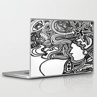 techno Laptop & iPad Skins featuring Techno by Madison R. Leavelle