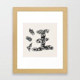 Wang Framed Art Print