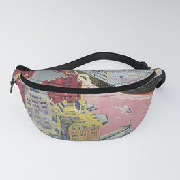 Nostalgia Havre Plymouth New York Fanny Pack
