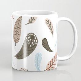 boho leaves Coffee Mug