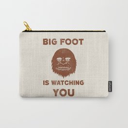 Big Foot Is Watching You Carry-All Pouch