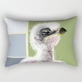 Baby Bonelli´s eagle Rectangular Pillow