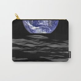 Earthrise over Compton crater Carry-All Pouch
