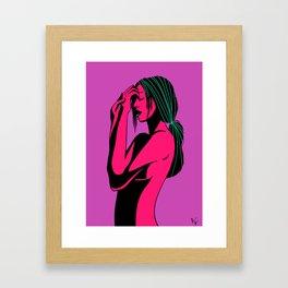Wondering Framed Art Print