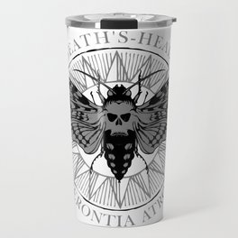 deaths head moth Travel Mug