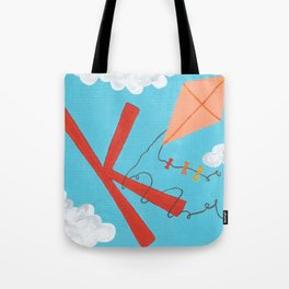 K is for Kite Tote Bag