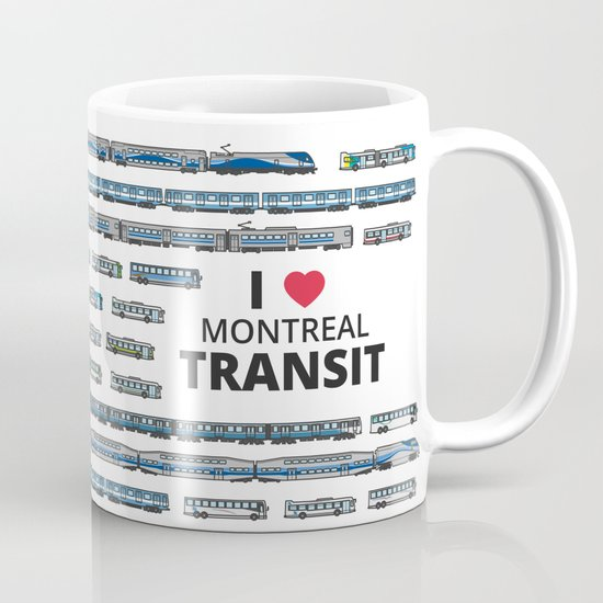 The Transit of Greater Montreal Mug