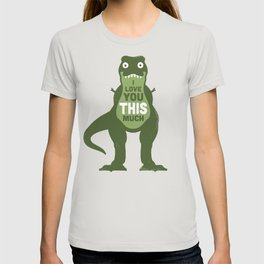 Amourosaurus T-shirt