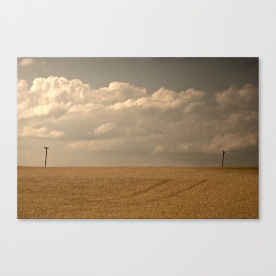 """""""I could read the sky"""" Canvas Print"""