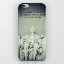 Abe iPhone Skin