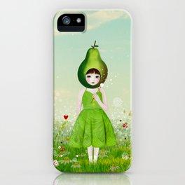 little pear iPhone Case