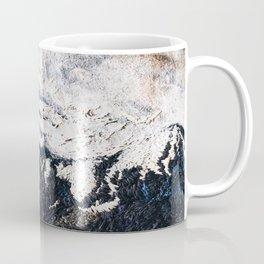 Mountaints Embroidery Coffee Mug