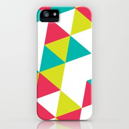 TROPICAL TRIANGLES - Vol 2 iPhone Case
