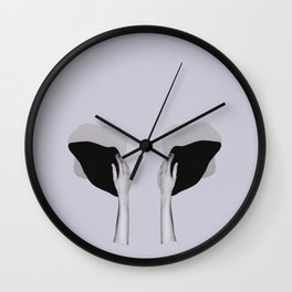 own whale Wall Clock