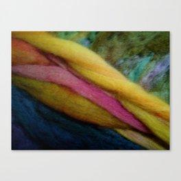Blond fibers Canvas Print