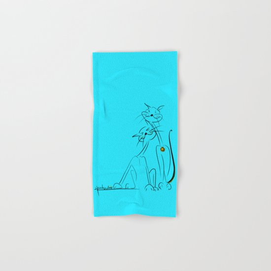 scratchy Hand & Bath Towel