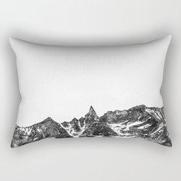Minimalist Mountain Rectangular Pillow