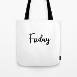 Friday fresh collection Tote Bag