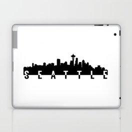 seattle city skyline Laptop & iPad Skin
