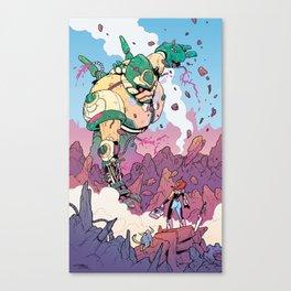The Robot Whisperer Canvas Print