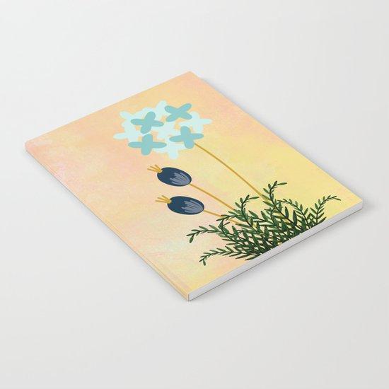 Acuarela Blue Flower 2 Notebook