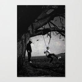 life & dead Canvas Print