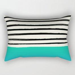 Mermaid & Stripes Rectangular Pillow