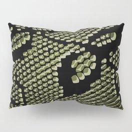 olive lace Pillow Sham