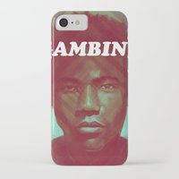 childish gambino iPhone & iPod Cases featuring Gambino by NArtist_P3rhaps