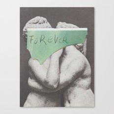 sad diagnosis Canvas Print