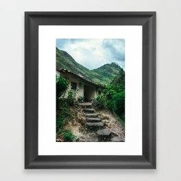 Mountain House (Colombia) Framed Art Print