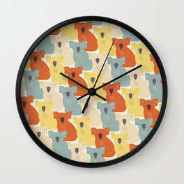 Koalas Wall Clock